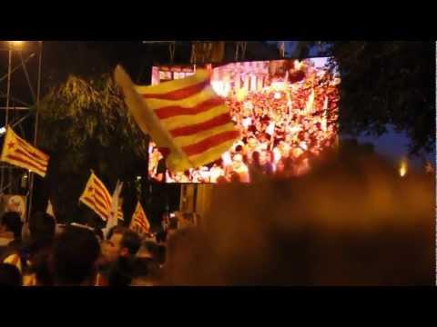 Manifestació independentista de Barcelona ANC II