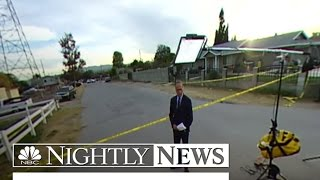 Lester Holt Reports Following San Bernardino Shootout | 360 Video | NBC Nightly News