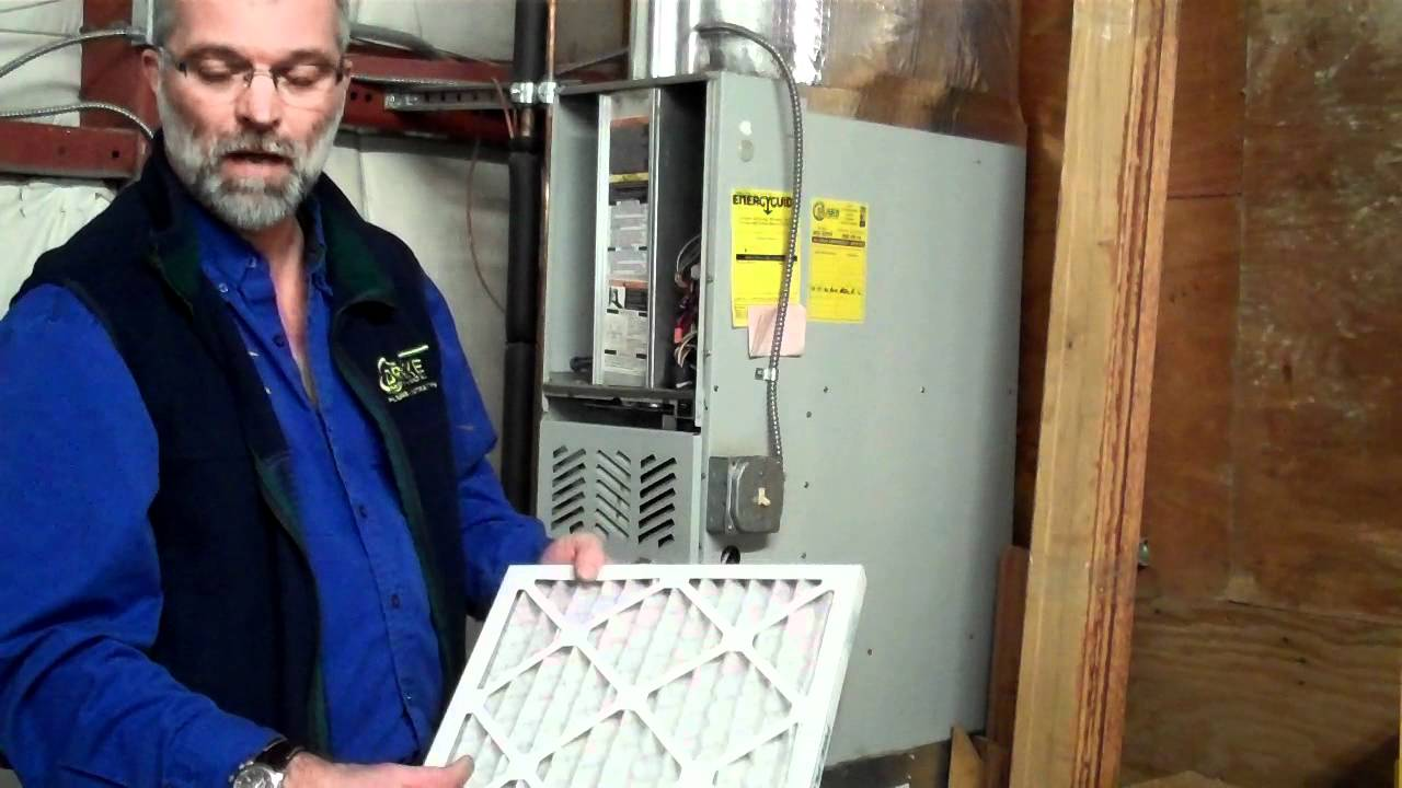 How To Change A Furnace Filter Youtube