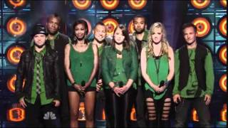 """1st Performance - Urban Method - """"Love The Way You Lie"""" by Eminem Ft Rihanna - Sing Off - Series 3"""