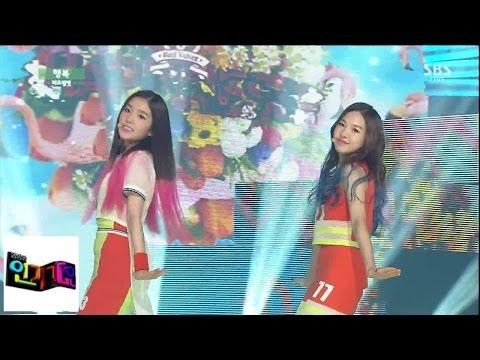 [레드벨벳 (Red Velvet)] 행복 (Happiness) @인기가요 Inkigayo 140824