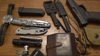 EDC Update : Lots Of Cold Steel, Literally...Plus Some Old Favorites (Dec 2017)