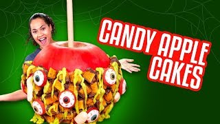 GIANT Candy Apple CAKE!! | How To Cake It