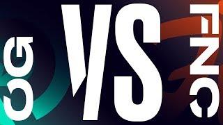 OG vs. FNC | Semifinal Game 1 | LEC Spring Split | Origen vs. Fnatic (2019)