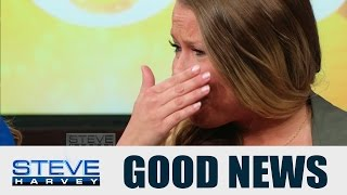 4 teenagers saved her life || STEVE HARVEY