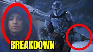 The Mandalorian Season 2 Trailer Breakdown! EVERYTHING You Missed!
