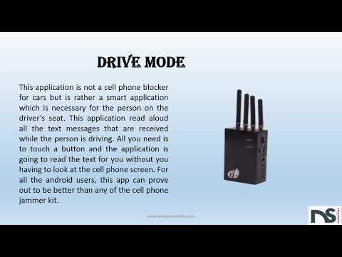 Cell phone blocker for cars