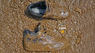 $30k AIR JORDAN 4 X EMINEM X CARHARTT sneakers dunked into melted m&m's Extreme Clean Crep Protect