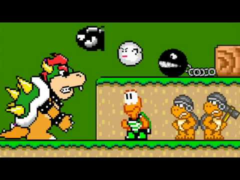Bowser And His Minions - Smashpipe Film Video