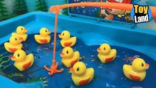 Lucky Duck for Children  Fishing Videos for Children  Fishing for Kids | TOYLAND
