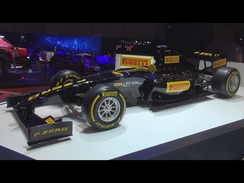 Pirelli P Zero Formula (2016) Exterior and Interior in 3D