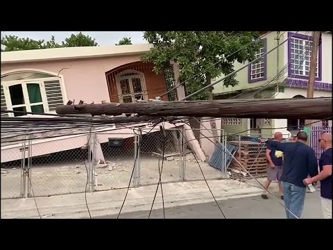 Strong earthquakes strike Puerto Rico within hours