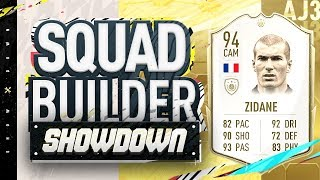 Fifa 20 Squad Builder Showdown!!! NEW ICON ZIDANE!!! 94 Rated Zidane vs Castro