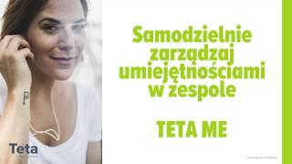 Samodzielne zarządzanie umiejętnościami w zespole - Teta ME