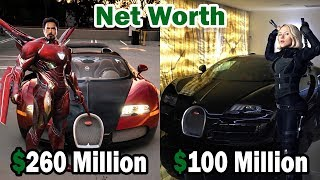 Avengers Infinity War: Net Worth and Cars of All Characters ★ 2018