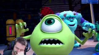 Kingdom Hearts 3 D23 Expo 'Monsters Inc' &