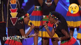Ndlovu Youth Choir: African Choir Give Everyone Shivers 😭 | America's Got Talent 2019