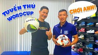 Huy Khánh SO TÀI với tuyển thủ FUTSAL WORLD CUP: Nguyễn Minh Trí | Huy Khánh Vê Lốc