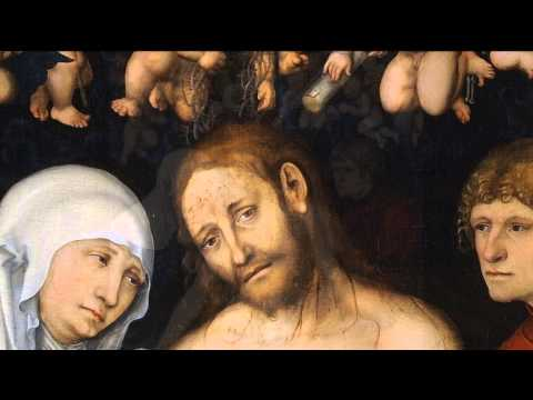 Агата Кристи: «Я вернусь». Лукас Кранах: «Скорбящий Христос»