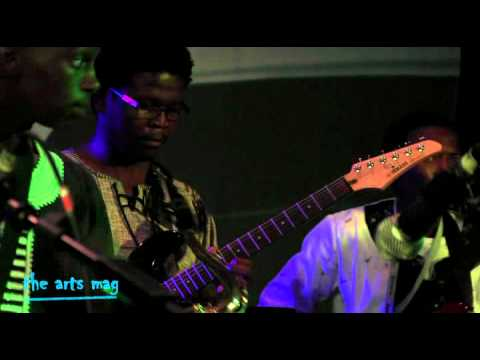 Taiwa Jazz Band at the Standard Bank Youth Jazz Festival 2012