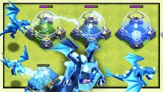 NEW TROOP - ELECTRO DRAGON TECH - Clash of Clans Town Hall 12 UPDATE