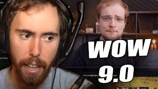 """Asmongold Reactions """"This… Means A LOT For 9.0: Blizz's BFA 180 Has Massive Implications For WoW"""""""