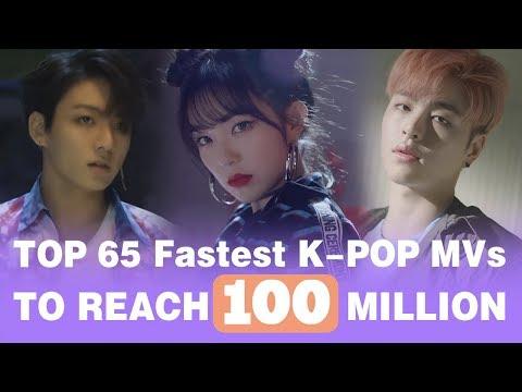 [TOP 65] Fastest K-POP Videos to reach 100M Views • June 2018