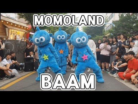 빼앰 | 모모랜드 | BAAM | MOMOLAND | 스타티 K-pop 인형탈 댄스팀