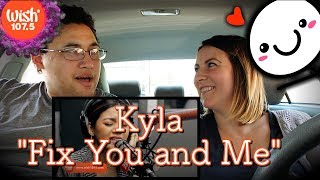 "Kyla performs ""Fix You and Me"" LIVE on Wish 107.5 Bus
