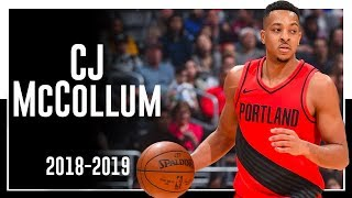Blazers SG C.J. McCollum 2018-2019 Season Highlights ᴴᴰ