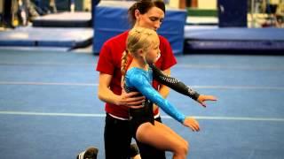 Back Handsprings for Beginner Gymnasts : Beginning Gymnastics