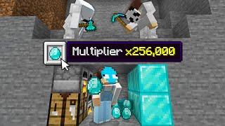 Minecraft Manhunt, But Item Drops Are Multiplied...