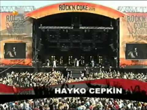 Hayko Cepkin Rock'n Coke 2009 Giriş