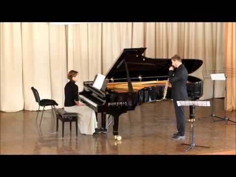 GOLDEN SAXOPHONE 2015. Illia Vasiachkin. Duo Concerto, Roberto Marino