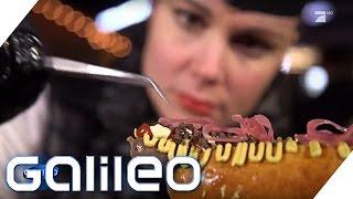 Jumbo testet: Der teuerste Hotdog der Welt   Galileo   ProSieben