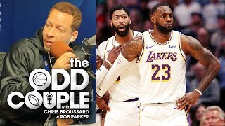 Best Player on the Lakers: LeBron James OR Anthony Davis - Chris Broussard & Jason McIntyre
