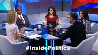 'Inside Politics' forecast: Trump's Dem dance