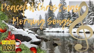 Peaceful Christmas Morning Songs | Instrumental, Piano & Jazz