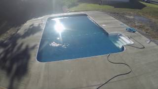 In-ground Pool Time Lapse