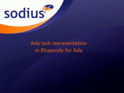 Ada Task representation in IBM Rational Rhapsody for Ada