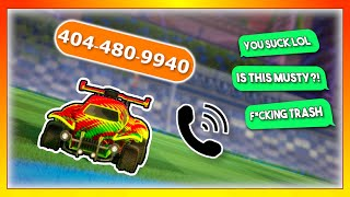 i put my PHONE NUMBER in my ROCKET LEAGUE NAME...