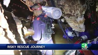 NorCal cave diver explains dangerous challenges in soccer team rescue