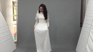 Diễn viên Tường Vi Chụp hình cưới - LAHAVA