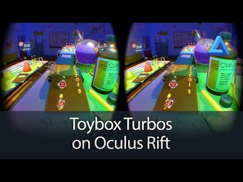 Turbo Toys on Oculus Rift