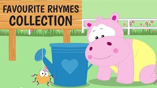 Favourite Rhymes Collection - Learning Videos For Toddlers | ABCD Song | Numbers Song