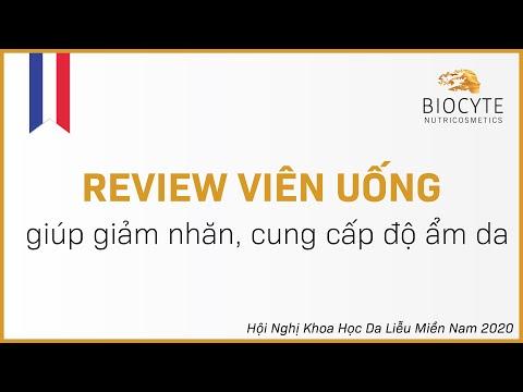 Review viên uống giúp giảm nhăn, cung cấp độ ẩm da