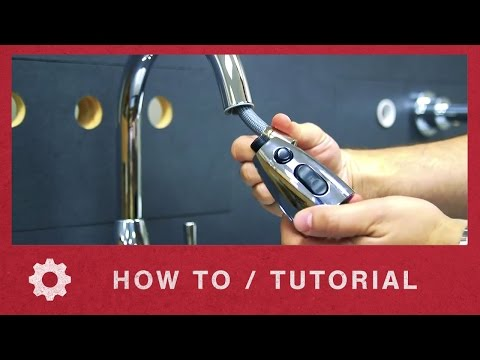 American Standard How to Replace the Spray Assembly in Colony Faucet