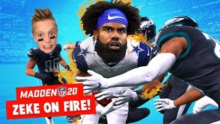 ZEKE is on FIRE in Madden NFL 20 Part 7! K-CITY GAMING