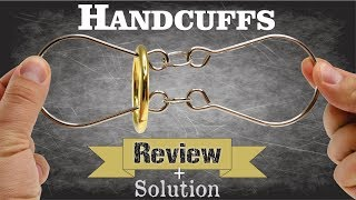 HANDCUFFS - Review & Solution - Puzzle Master Wire Puzzles
