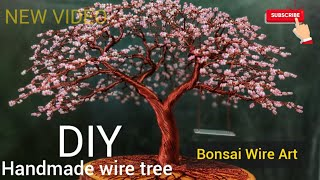 Cherry Blossom wire tree tutorial
